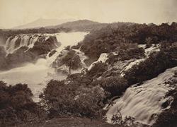 Kaveri Falls. - Bar Chukki, general view.
